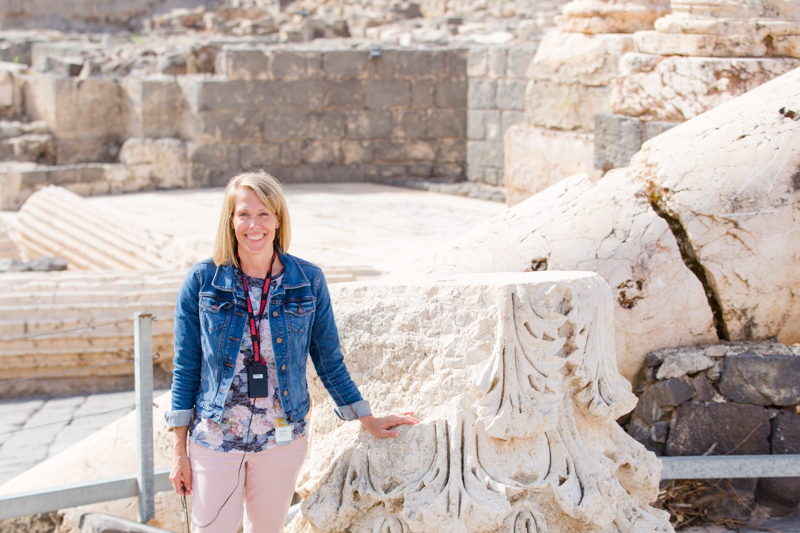 Rochelle at Beit She'An